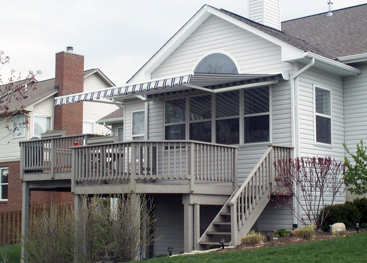 Elegant Queen City Awning