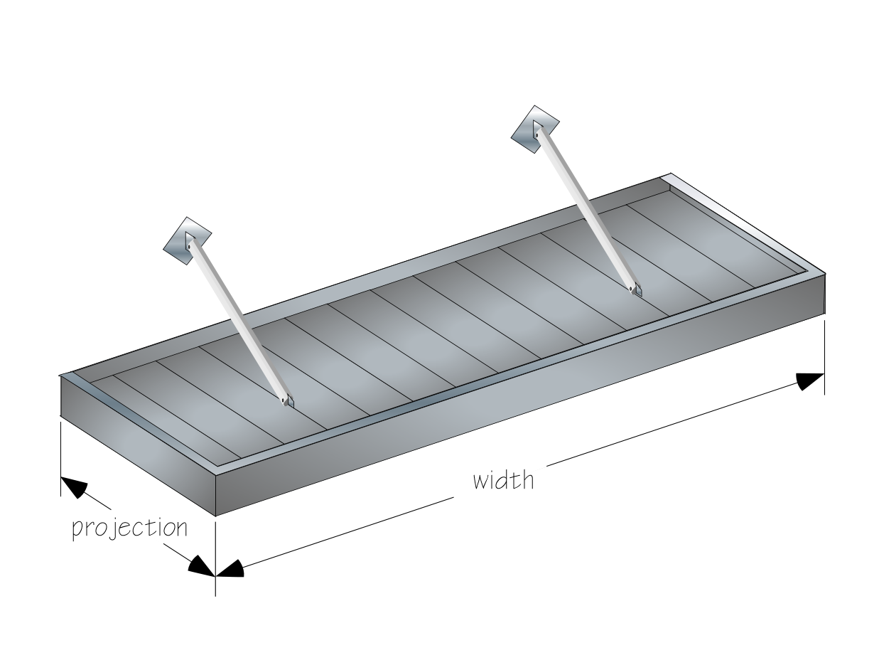 CADdetails Microsite  sc 1 st  Queen City Awning & The Hanger Rod Canopy