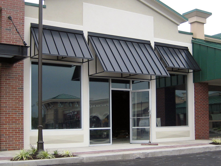 The Armor Clad Standing Seam Awning