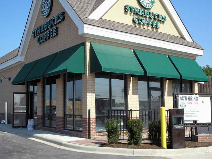Storefront Awning Products