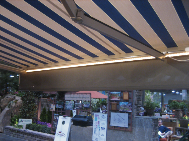 Available Accessories For The Eclipse Retractable Awning