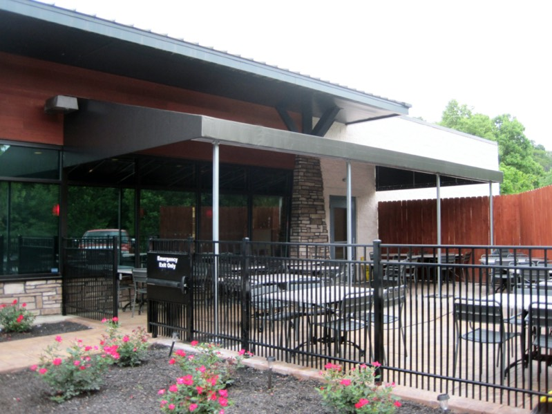 Metal Awning Photo